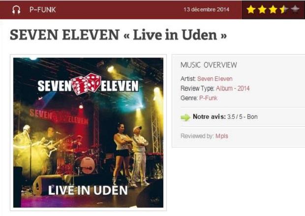 Fonkadelica - Live in Uden (13 december 2014)