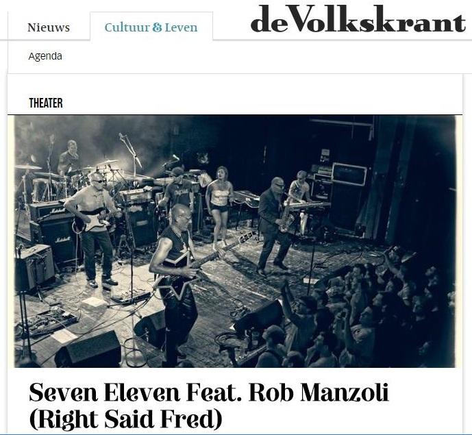 Volkskrant Seven Eleven feat Rob Manzoli