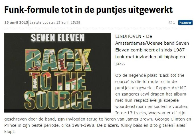 ED Funk-formule tot in de puntjes uitgewerkt (13 april 2015)