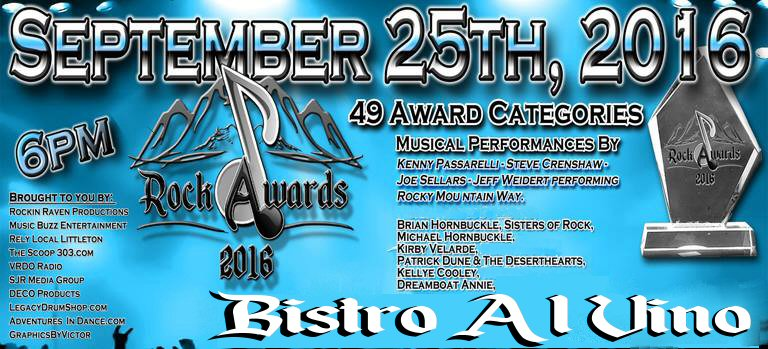 Colorado Rock Awards 2016